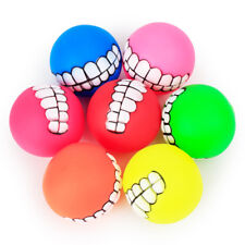 Pet Dog Sound Ball Puppy Crunchy Teeth Toy Screaming Ball Fun Interactive Toy
