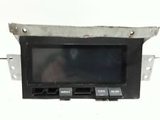 02 03 04 Isuzu Axiom information display screen. Missing some buttons Oem