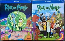 Rick and Morty: Complete Seasons 1 and 2 (Blu-Ray Bundle) FREE First Class!
