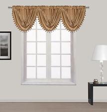 "New Luxury Waterfall Decorative Trim Window Valance  (55""x 37"") 7 COLORS"