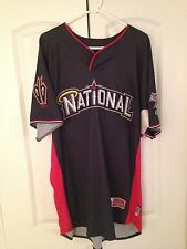 Game Used 2010 AS Game Workout & Home Run Derby Jersey-Young:  MLB Authenticated