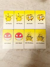 Pokemon 2000 SORRY YELLOW Tokens Game Replacement Piece Hasbro Parker Brothers