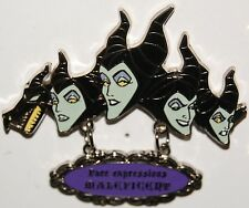Japan Disney Store Face Expressions (Maleficent) LE 900 PIN