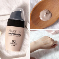 Face Cream Base Liquid Foundation Concealer Eye Dark Circles Cover Make Up Women