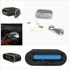 Wireless Wifi Spy Hidden Camera DVR IR Night Vision Security Alarm Clock 1080P