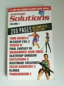 Extreme Solutions Volume 1 Book By PlayStation Magazine PS1