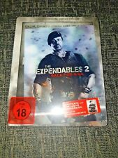 The Expendables 2 Back for War Limited Special Uncut Edition Blu-Ray Steelbook+