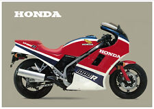 HONDA Poster VF1000R VF1000 R 1985 Suitable to  Frame