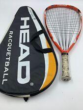 HEAD Extreme 180 Flexpoint Racquetball Racquet And Case **READ RARE racquet.
