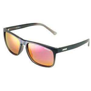 Sinner Oak Matte Black Grey CX Sintec Smoke Red Mirror Lens Sunglasses