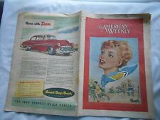THE AMERICAN WEEKLY--JULY 22,1951--SUNDAY BULLETIN-PHILADELPHIA