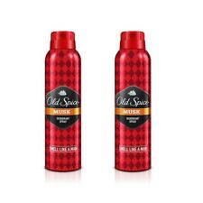 Pack of 2 Musk Old Spice Anti Perspirant Deodorant Body Spray 150 ml Free Ship