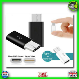 USB 3.1 Type-C Male to Micro USB Female Adapter Converter USB-C Adapter Charger