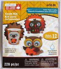 Creatology Thanksgiving Craft Kit for Kids, Turkey / Owl / Hedgehog, Rare Set!