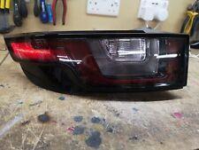 Evoque near sided rear light - cabriolet black pack