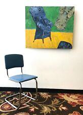 Daystrom Mid Century Modern Chrome Dining Chair