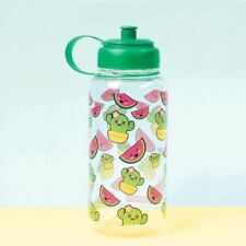 Water Bottle Water Melon and Cactus 1 L Kawaii Leakproof Reusable Drinks Bottle