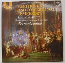 """Beethoven Piano Concerto no. 5 EMPEROR Claudio Arrau Bernard Haitink 12 """" LP ("""
