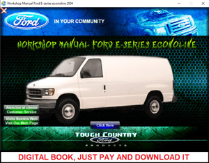 FACTORY REPAIR SERVICE MANUAL FOR FORD E-SERIES ECONOLINE 2004