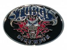 BOUCLE DE CEINTURE STURGIS / BIKE WEEK - DECORATION USA / BIKER / HARLEY