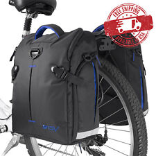 BV Bike Commuter Bag Cycling Panniers Rear Storage w/ Rain Cover (Pair) NEW BA3