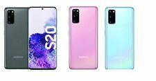 """Samsung Galaxy s20 sm-g980f Smartphone Android 15,8cm 6,2"""" 128gb 8gb Hybrid SIM"""