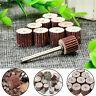 12P Sanding Sandpaper Wheel Flap Abrasives Rotary Grinding Drill Bit 80~600 Grit