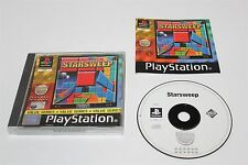 PLAYSTATION 1 STARSWEEP PS1 GAME
