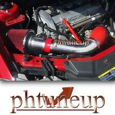 RED 2008-2012 CHEVROLET MALIBU 2.4 2.4L LS LT LTZ RAM AIR INTAKE KIT + FILTER