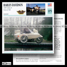 #039.09 SIDE-CAR HARLEY 1340 CLASSIC FLH 80 + TLE 70's Fiche Moto