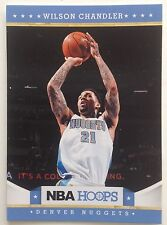 Wilson Chandler Forward Denver Nuggets 2012  # 111 Panini 9 Original Single