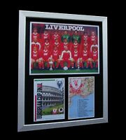 LIVERPOOL 1984 EUROPEAN CUP FINAL LTD Numbered FRAMED+EXPRESS GLOBAL SHIPPING