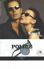PUBLICITE advertising  1998   POLICE lunettes solaires