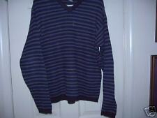 OLD NAVY Blue Striped Sweater - SZ SMALL
