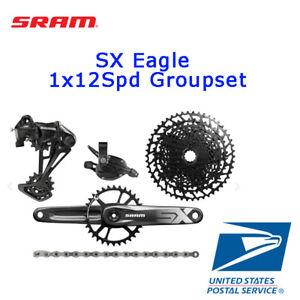 NEW SRAM SX Eagle 1x12 Speed DUB 5pcs Groupset MTB 11-50T 170 175mm 30 32 34T
