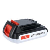 New 20V Max 3.0Ah Lithium ion Battery for Black & Decker 20V LB20 LBX20 LBXR20