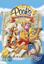 DVD:WINNIE THE POOH - WINNIE THE POOHS MOST GRAND ADVENTURE - NEW Region 2 UK