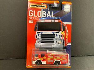 Matchbox Scania P 360 Feu Camion 1/14 HCL41-956A 1/64 ??