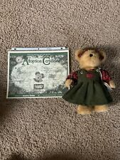 Boyds Millie Marie Goodbear-Country Clutter Excl. 2001 w/ Adoption Certificate