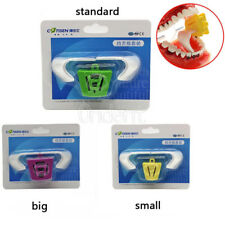 1 kit Dental Occlusal Pad 3 size L /M/S Autoclavable + 6pc Oral Block Tongue
