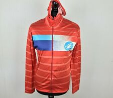 Vintage Castelli ROSATE Long Sleeve Hooded Cycling Jersey Men's Size XXL Orange