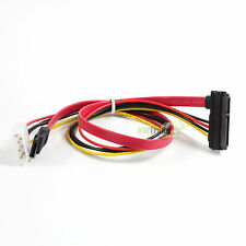 22Pin( 7p + 15p ) SAS to 1 Sata 7pin Data SAS/SATA with 4pin IDE Power Cable