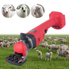 Wireless Electric Sheep Shear Goat Clipper Shearing Machine 2 Gear 22002400 Rpm