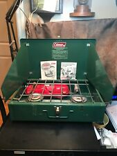 Vintage Coleman Folding Camp Stove #425F.Amazing Condition Minimal Use If Any!