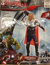 The Avengers Thor Child Muscle Costume Marvel Comics SIZE LARGE 12-14 NWT PC166