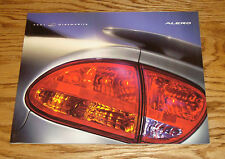 Original 2001 Oldsmobile Alero Deluxe Sales Brochure 01