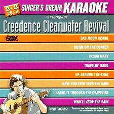 in the style of CREEDENCE CLEARWATER REVIVAL KARAOKE (Brand New CD)