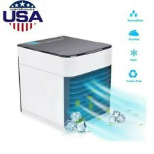 Cooling Air Fan Humidifier Purifier Personal Space Portable Mini Air Conditioner