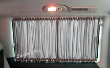 VW T4 curtains campervan curtain set for 2 side windows blinds grey color