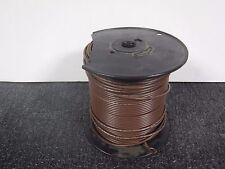 AlphaWire 3073 Brown 500' Feet Machine Tool Hook-up Wire New (MJ)